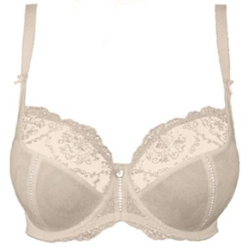 LILLY ROSE UNDERWIRED LOW-NECKED BRA