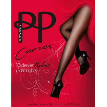 CURVES NYLONS 10D GLOSS TIGHTS