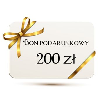 Bon Podarunkowy Na Kwotę 200 Złotych
