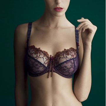 IRINA UNDERWIRED LOW-NECKED BRA