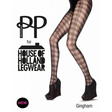GINGHAM TIGHTS