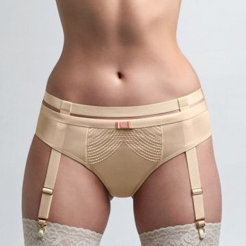 MULHOLLAND DRIVE BRAZILIAN BRIEFS & SUSPENDER