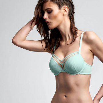 Lagertha's Key padded push up bra