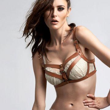 Earl Lagertha padded push up bra