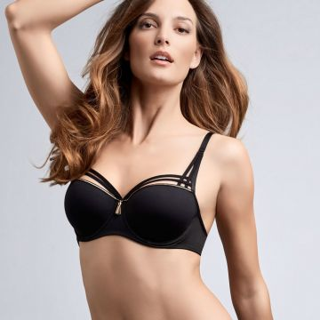 Dame de Paris padded balcony bra