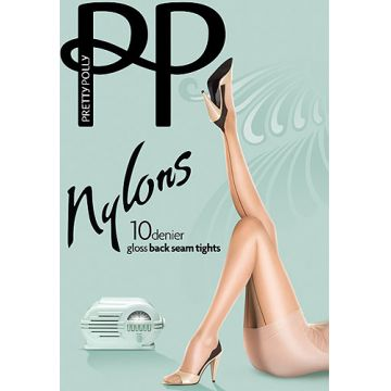 10D GLOSS BACKSEAM TIGHTS