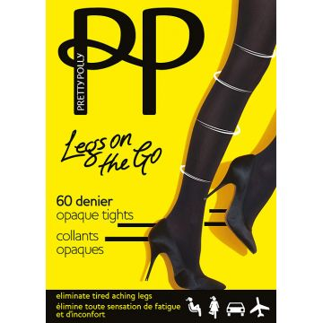 LEGS ON THE GO 60 DENIER OPAQUE TIGHT