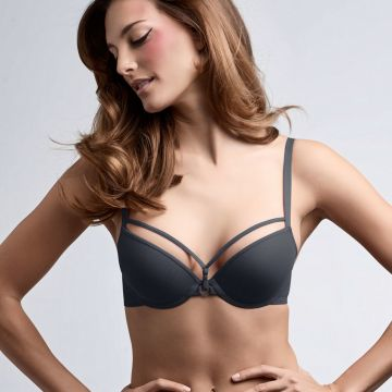 Space odyssey wired padded push up Bra