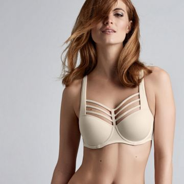LEADING STRINGS PLUNGE BALCONY BRA