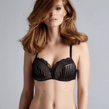 HOLLYWOOD GLAM WIRED PADDED PUSH UP BRA