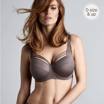 DAME DE PARIS WIRED PADDED BALCONY BRA