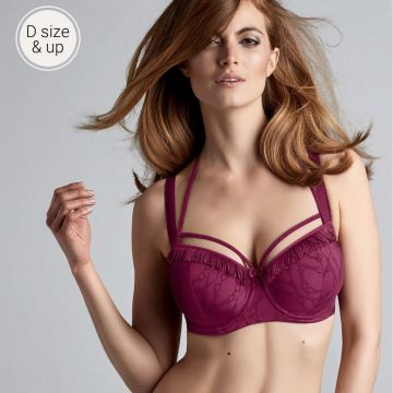 LATIN LADY WIRED PADDED BALCONY BRA