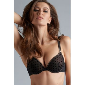PETIT POINT PADDED PUSH UP BRA