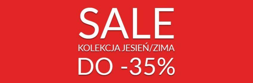 SALE Kolekcja Jesień/Zima do -35%